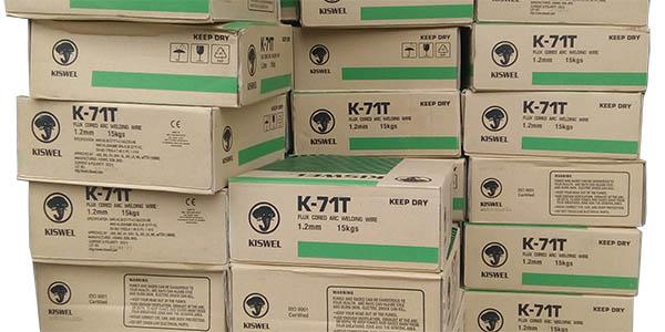 K-71T Kiswel-Dây hàn CO2 lõi thuốc
