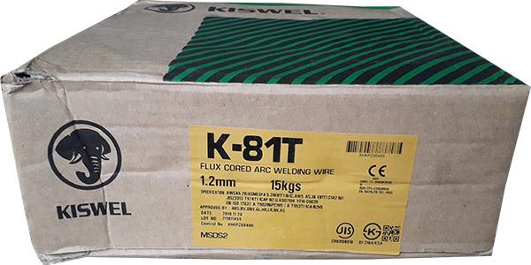 Dây hàn K-81T (dây hàn lõi thuốc)