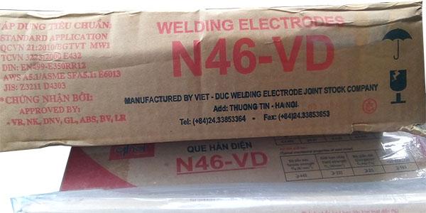 Que hàn điện N46-VD Việt Đức
