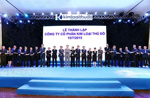 Lễ thành lập Công ty Cổ phần Kim Loại Thủ Đô