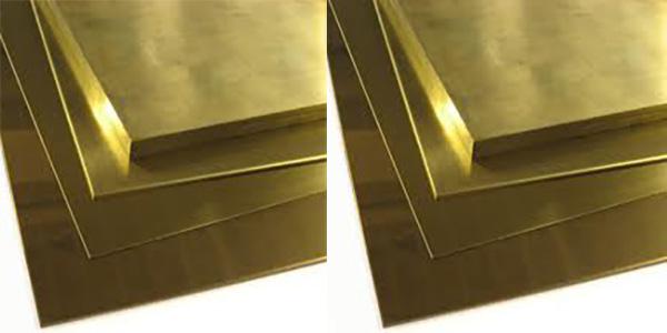 Đồng vàng dạng tấm lá