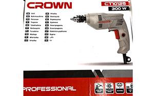 Máy khoan Crown CT10125 300w