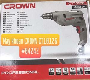 Máy khoan Crown CT10126