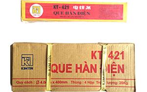 Que hàn điện Kim Tín KT-421 4.0mm