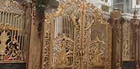 Cung cấp vật liệu cho làng nghề sản xuất Cổng nhôm đúc