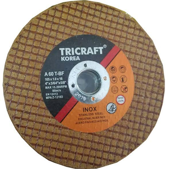 Đá cắt 100 Tricraft Hàn Quốc (Vàng)