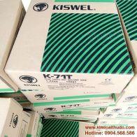 Dây hàn lõi thuốc K-71T Kiswel