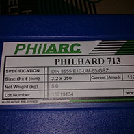 PhilHard 713 Hardfacing Electrodes